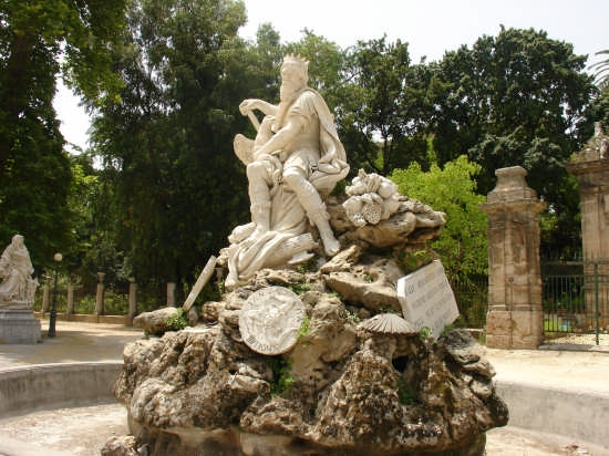 Villa Giulia - Il Genio - Palermo (5247 clic)