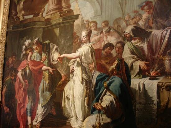 Particolare del Il Sacrificio di Polissena - Palermo (7260 clic)