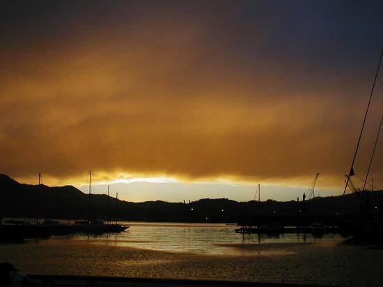 Dopo il temporale - La spezia (2820 clic)