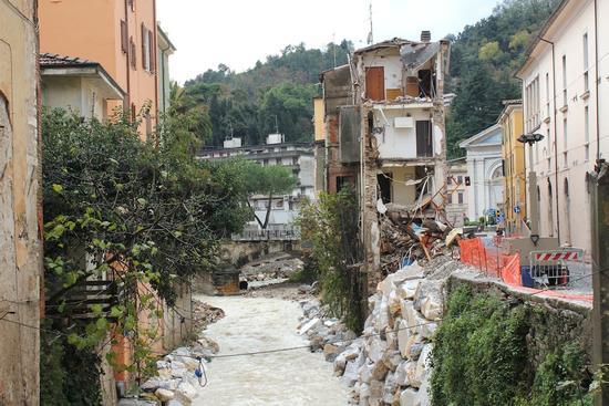 il crollo sulla Carriona - Carrara (1192 clic)