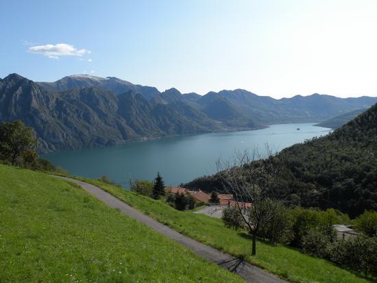 lago d'iseo da Fonteno (1239 clic)
