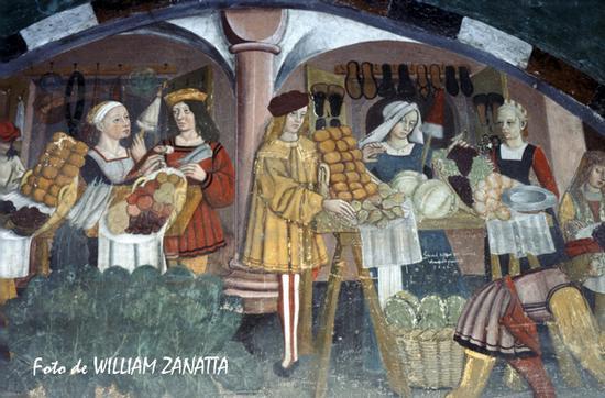 Affresco del castello - Issogne (2694 clic)