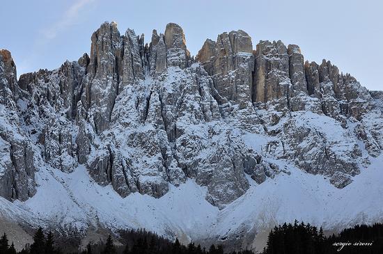 Prima neve sul Latemar - Nova levante (4489 clic)