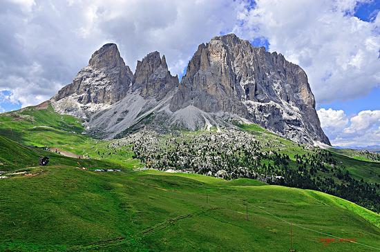 Gruppo del Sassolungo - Passo sella (10185 clic)