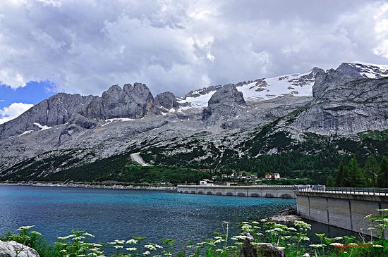 Lago Fedaia - Passo fedaia (4132 clic)