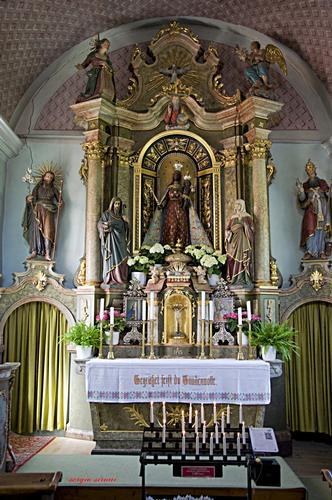 Madonna Nera a Sares - San lorenzo (1607 clic)