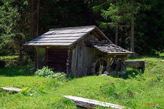 Antico mulino a Selva dei Molini (3020 clic)