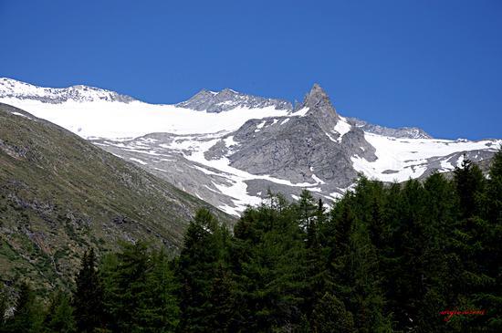 Panorama sulle alpi dello Zillartal   - Lutago (1846 clic)