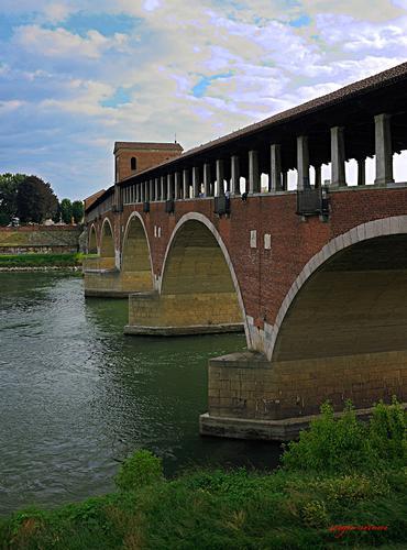 Ponte coperto sul Ticino - Pavia (2575 clic)