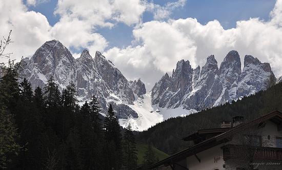 panorama sulle Odle - Chiusa (1327 clic)