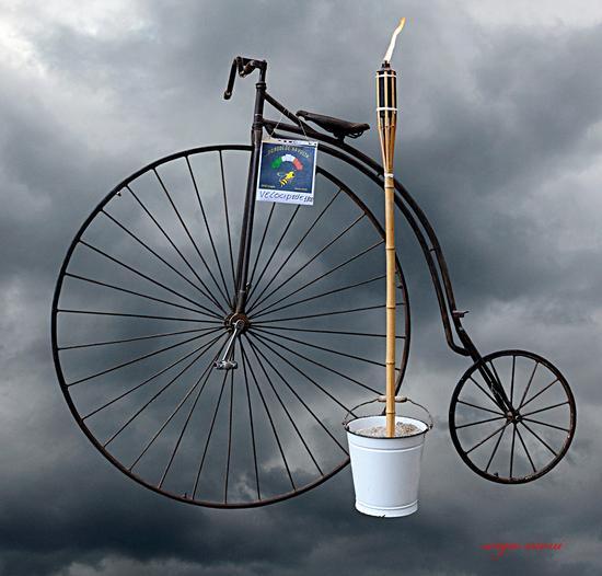 Il tempo ed il velocipede - Rovereto (2572 clic)