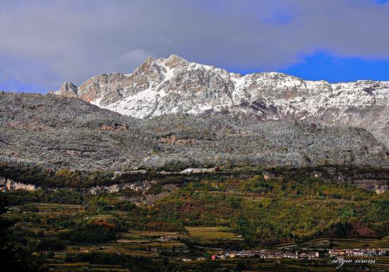 Prima neve autunnale - Rovereto (2253 clic)