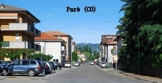 Parè piccolo paese a due passi da Como (1540 clic)