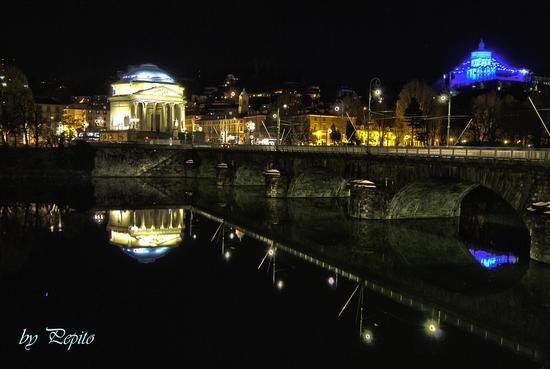 vista da piazza Vittorio Veneto - Torino (986 clic)