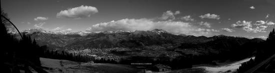 Panorama dal rifugio San Lucio - Clusone (1170 clic)