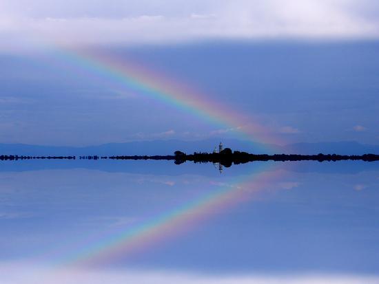 Arcobaleno sull'Isola di S.Maria di Barbana - Grado (3395 clic)