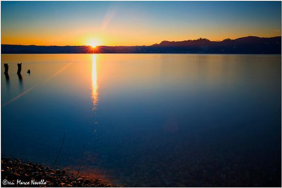 Quiete al tramonto... - Angera (10051 clic)