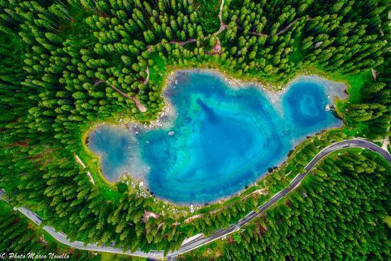 Carezza...dal cielo - Carezza al lago (606 clic)