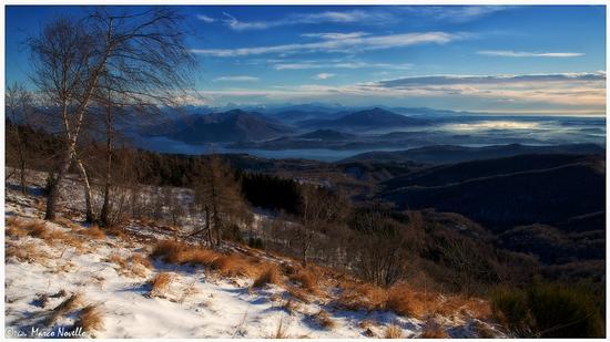 Vista lago... - Armeno (1300 clic)