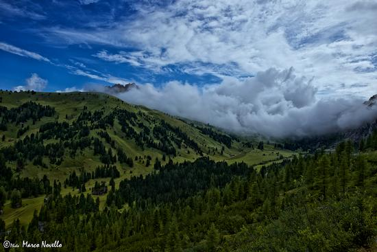 Nuvole... - Passo gardena (2068 clic)