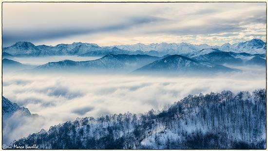 Mare di nuvole... - Mottarone (2235 clic)