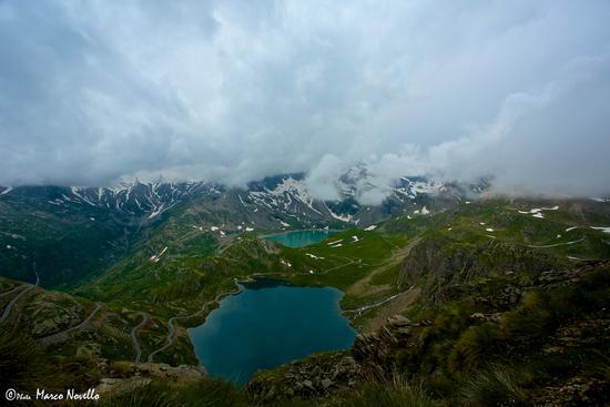 Vista laghi... - Colle del nivolet (1395 clic)