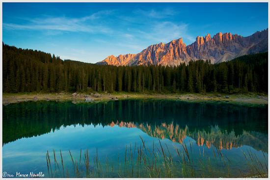 una Carezza al...tramonto - Carezza al lago (1071 clic)