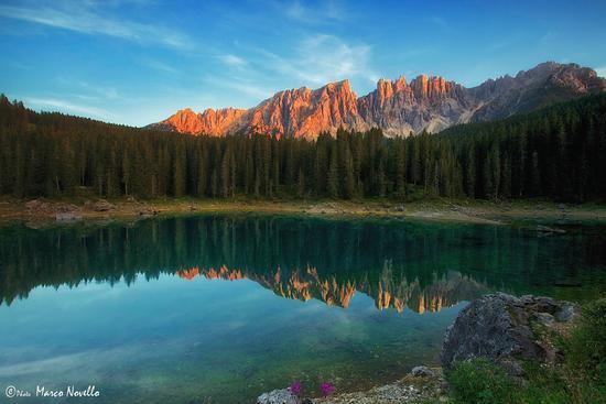 Una Carezza al...tramonto - Carezza al lago (5499 clic)