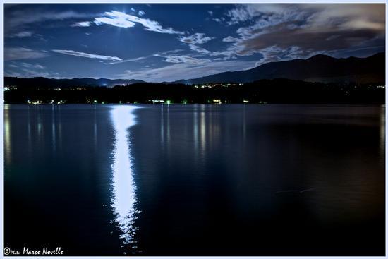 La luna & il lago - Orta san giulio (3136 clic)