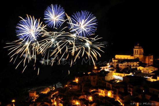 Fuochi d'artificio - Festa S.Calogero Eremita  - Petralia sottana (2680 clic)