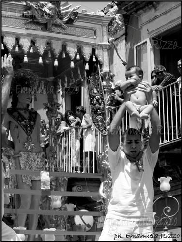 Palazzolo Acreide festa di San Sebastiano, Emanuela Rizzo Fotografo (1999 clic)