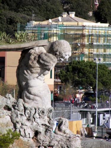 Statua del gigante - Monterosso al mare (9041 clic)