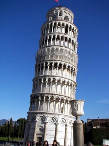 La torre pendente - Pisa (5796 clic)