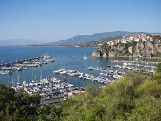 Vista del porto di Agropoli (9211 clic)