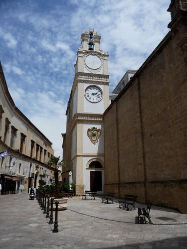campanile della concattedrale di Sant'Agata Gallipoli (1545 clic)