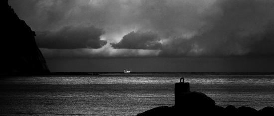 La magia della luce sul mare - Sirolo (1444 clic)