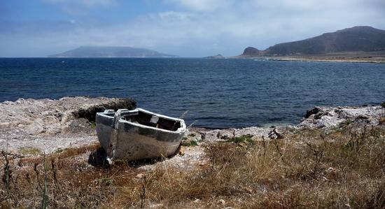 Barca in secca  - Favignana (1480 clic)