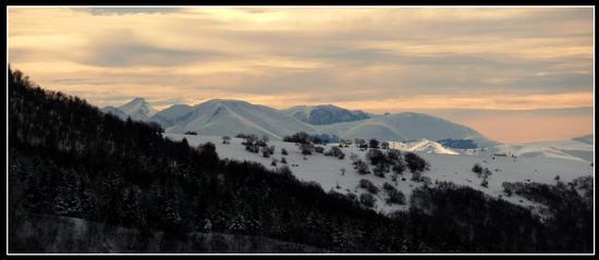 sibillini dal monte san vicino - Apiro (1570 clic)