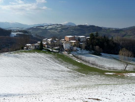 Nevicata primaverile - Fiastra (609 clic)