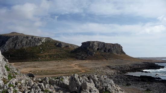 Punta Faraglione - Favignana (1965 clic)