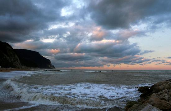 tramonto - Numana (4356 clic)