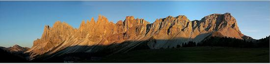 Tramonto sulle Odle - Funes (1202 clic)