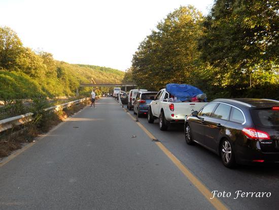 Bloccati in autostrada   - Bagnara calabra (2016 clic)