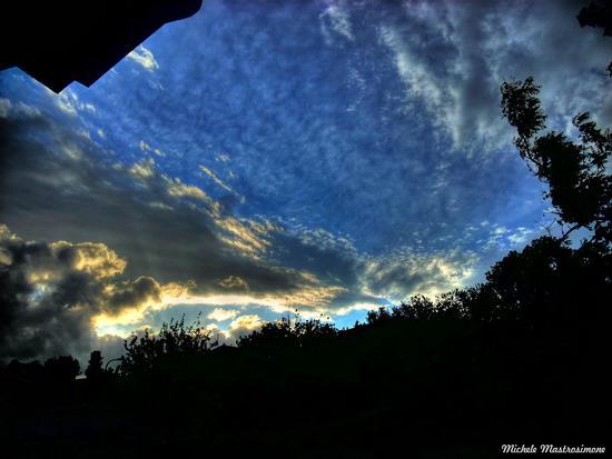 Nubi al tramonto - Paduli (3545 clic)
