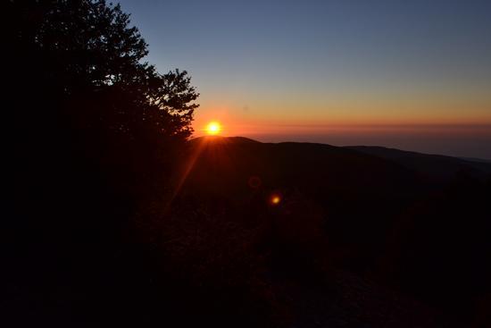 tramonto da Montalto - Gambarie (2129 clic)