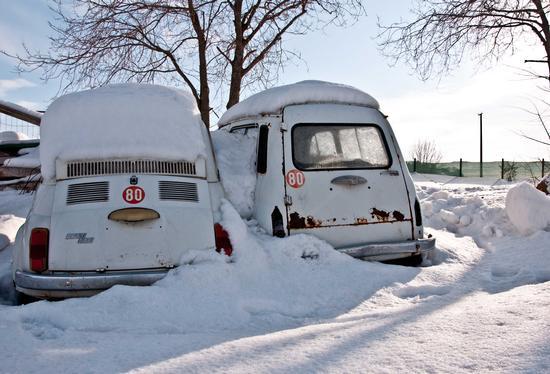 Italia sotto la neve - Orciano di pesaro (2285 clic)