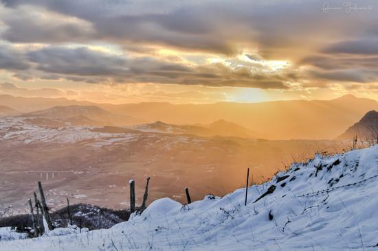 Il calore di un sole invernale - Potenza (2870 clic)