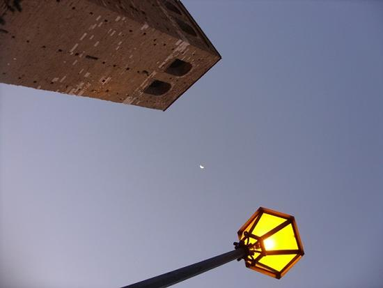 Una Luna..una farfalla bianca ...per Te.......... (787 clic)