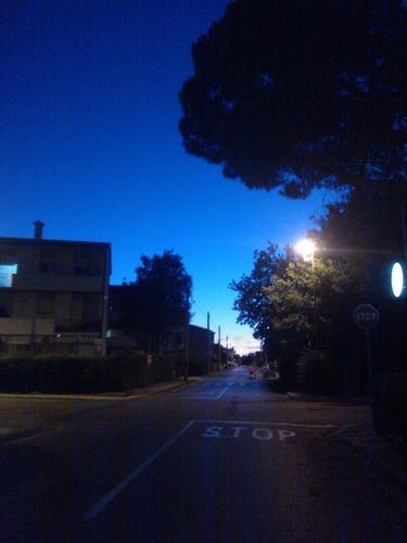 Il cielo alla sera - Navacchio (1091 clic)