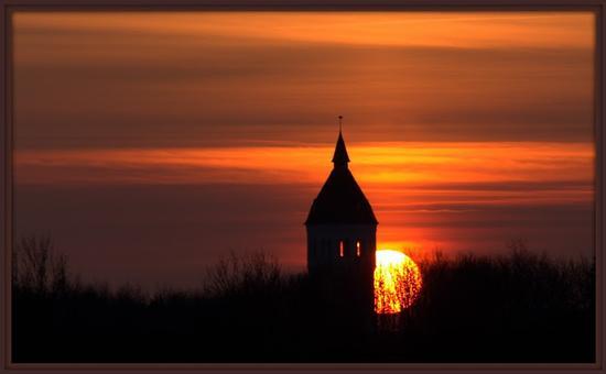 Il tramonto - Monteriggioni (2420 clic)